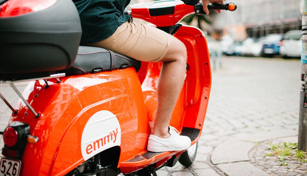 [Evtl. Lokal München] Kostenlose Anmeldung und 25 Freiminuten für emmy (eScooter-Sharing)