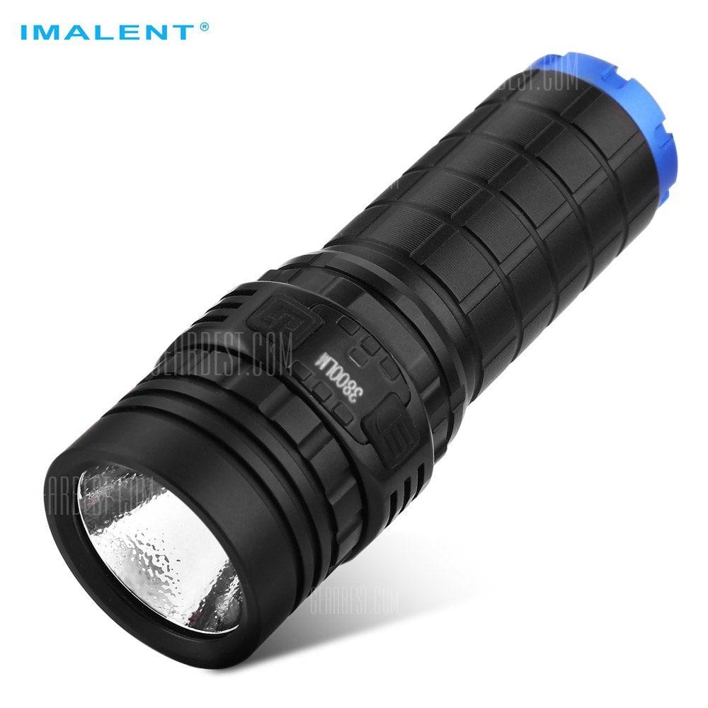 Wieder da - Imalent DN70 - Top Taschenlampe mit 3800lm Inkl. 26650 Akku und USB Port zum Nachladen von GearBest