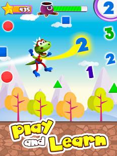 Dino Tim: Spiele Formen Farben & Buddy School: Mathe Spiele für Kinder (Lernspiele) (Android + iOS) kostenlos (statt je 1,79€) [Play Store + iTunes]