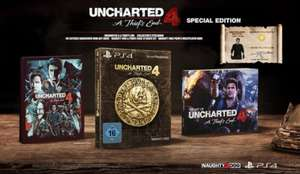 Uncharted 4: A Thief's End - Special Edition (PS4) für 28,85€ [Netgames]