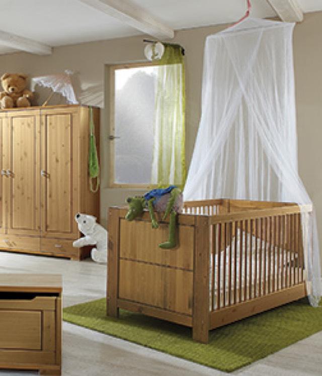 Kinderbett Babybett allnatura Piccolino Massivholz 70x140cm [allnatura]