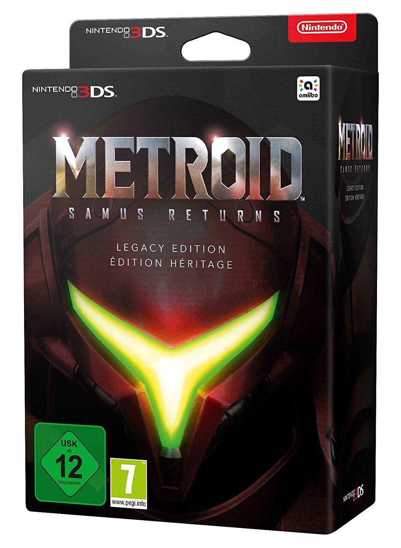 [Amazon.de] Metroid: Samus Returns - Legacy Edition (Nintendo 3DS)
