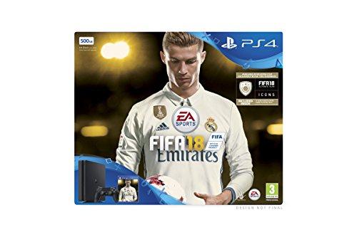 PS4 Slim + Fifa 18 Ronaldo Edition für 230,19€ [Amazon.co.uk]