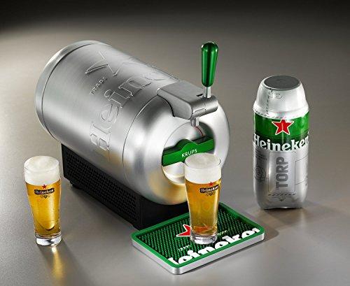 THE SUB Heineken Edition für 109€ oder in rot für 89€ bei Amazon - nur heute im Tagesangebot - Bierzapfanlage