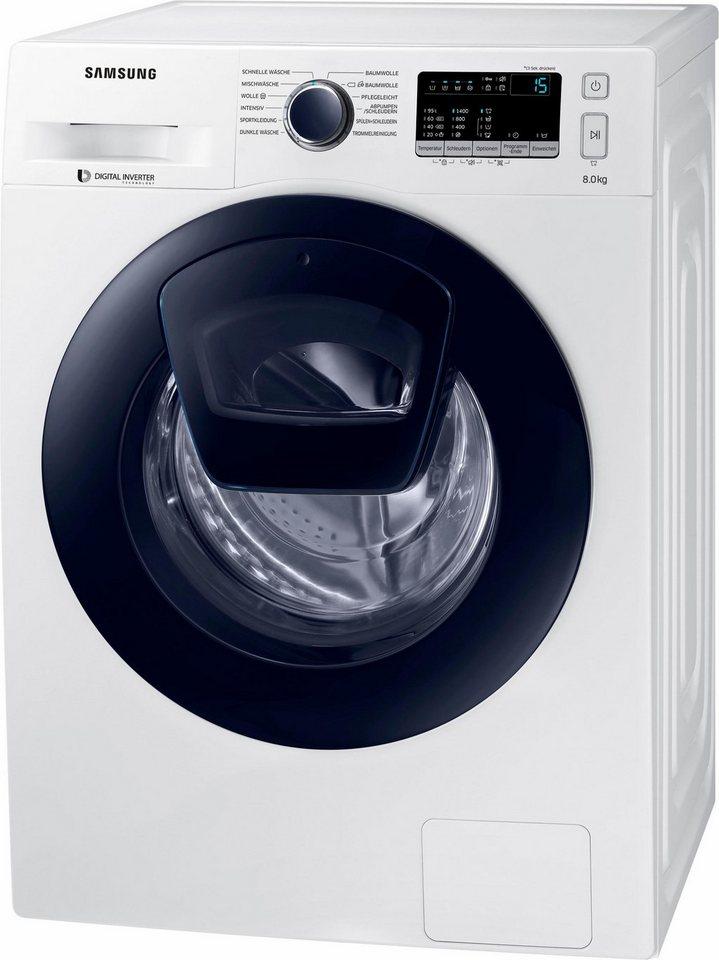 Waschmaschine Samsung mit AddWash Nachlegefunktion inkl. 4 Jahre Garantie