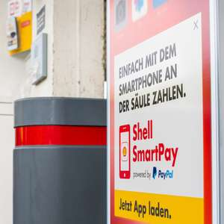 7 € Paypal Gutschein, Tanken Shell per App, MBW 25 € [Lokal Berlin, Hamburg]