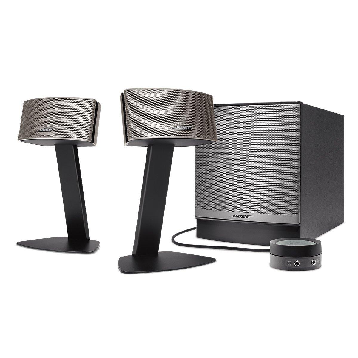 Bose Companion 50 Multimedia Lautsprechersystem für 270,22€ (Amazon.es)