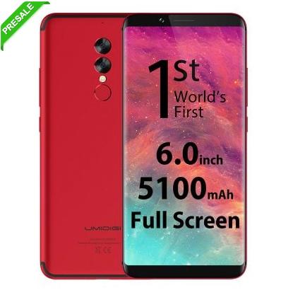 """UMIDIGI S2 - 5.5"""", Android 7 (Nougat), Helio P20 @2,3 GHz, 4GB RAM, 64GB Storage, USB-C, LTE-B20 [Gearbest - Vorverkauf] inkl. Priority Versand -> keine Einfuhrumsatzsteuer"""