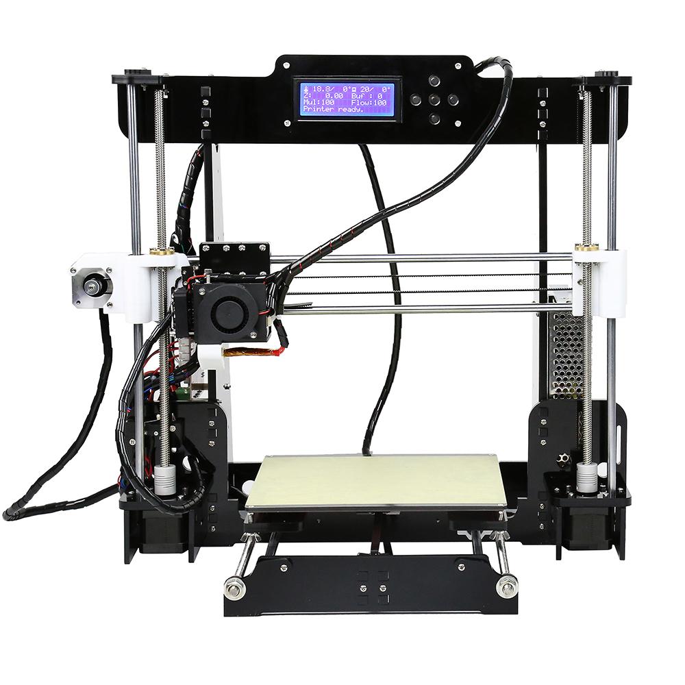 Anet A8 Desktop 3D Printer Prusa i3 DIY Kit für 95,44€ @ Gearbest