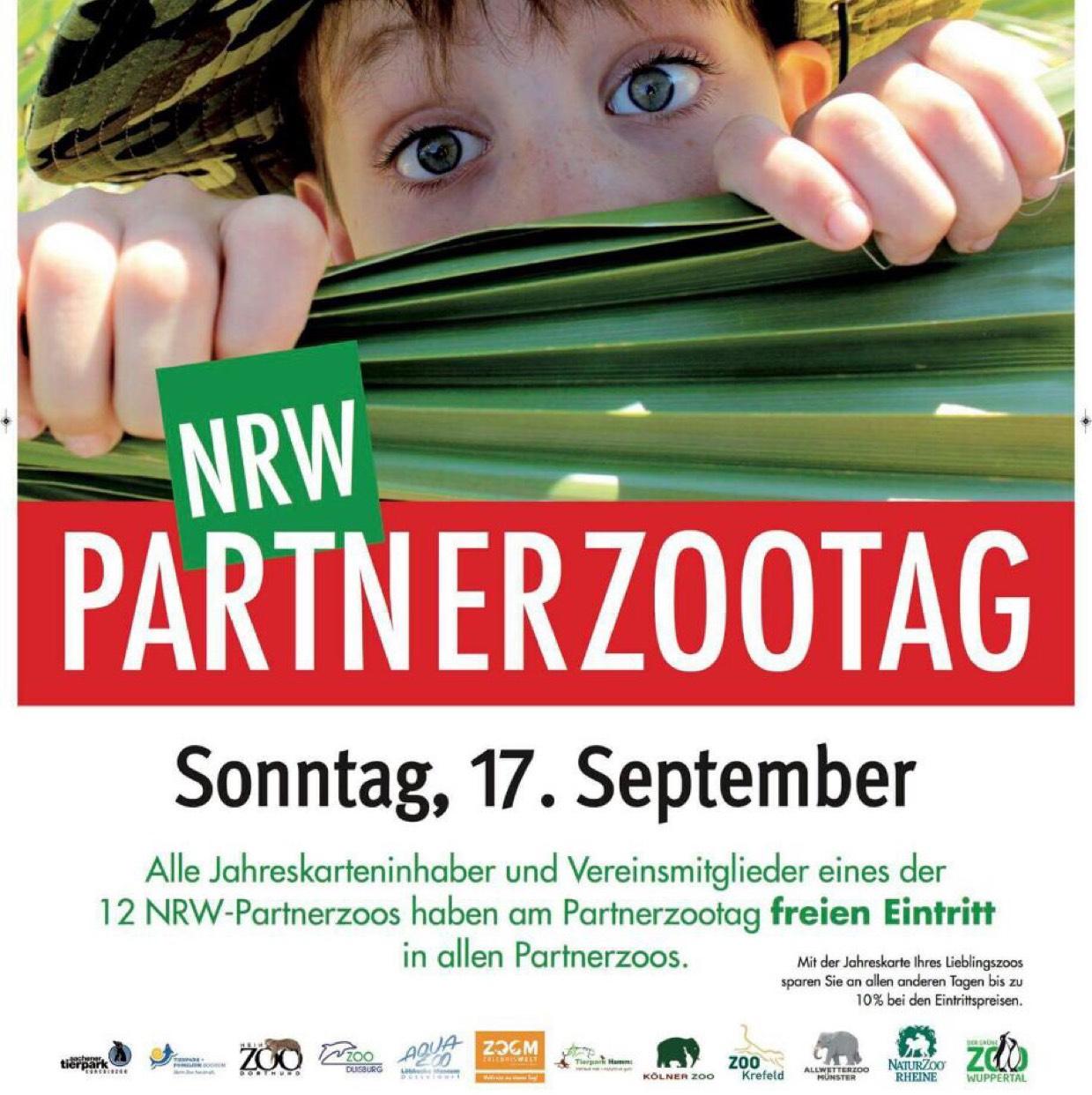 (NRW) kostenfreier Eintritt in einen von 12 Zoos für Jahreskarteninhaber