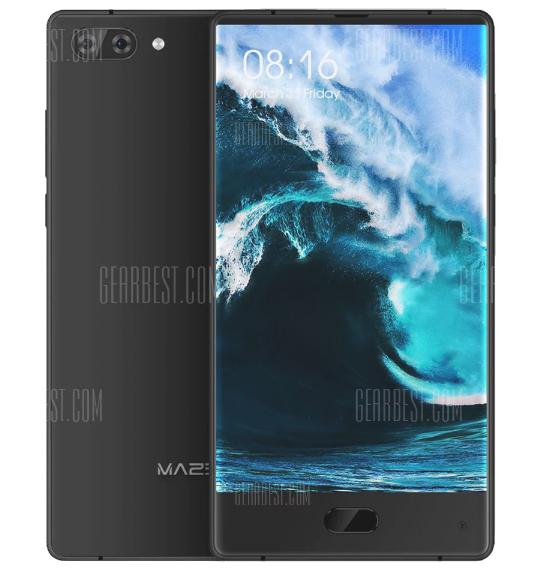 Maze Alpha 6GB RAM Version, 6 Zoll randlos, 64GB Speicher, Android 7, 4000mAh Akku, Helio P25 Prozessor, Band 20 [Gearbest]