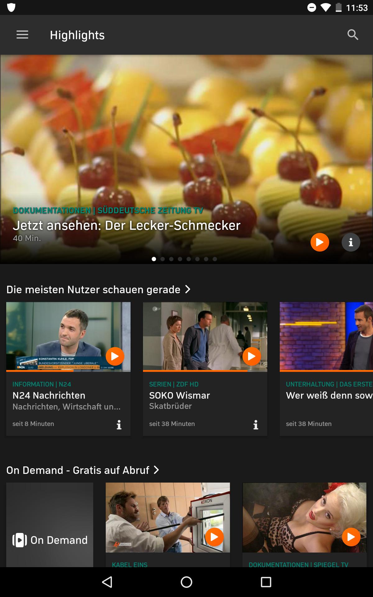 Zattoo Premium 3 Monate gratis wieder da. Ohne GMX und Web.de