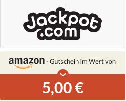 [Spartanien] Neukunde bei jackpot.com 1 Feld EuroMillions für 2,50 € spielen und 5 € Amazon Gutschein erhalten (Lotto)