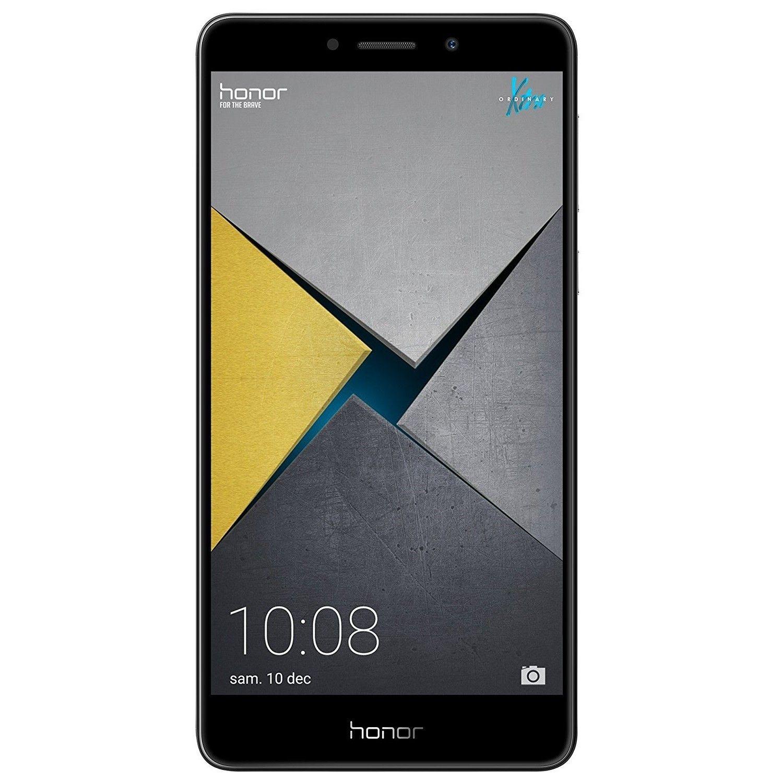 huawei honor 6x smartphone 5 5 zoll 4gb ram 64gb rom android 6 0 bln l22 grau ohne garantie. Black Bedroom Furniture Sets. Home Design Ideas