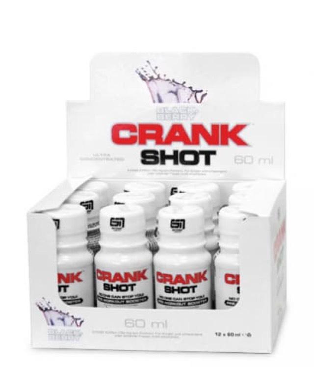 ESN CRANK SHOT, 12er Pack Blackberry oder Cola