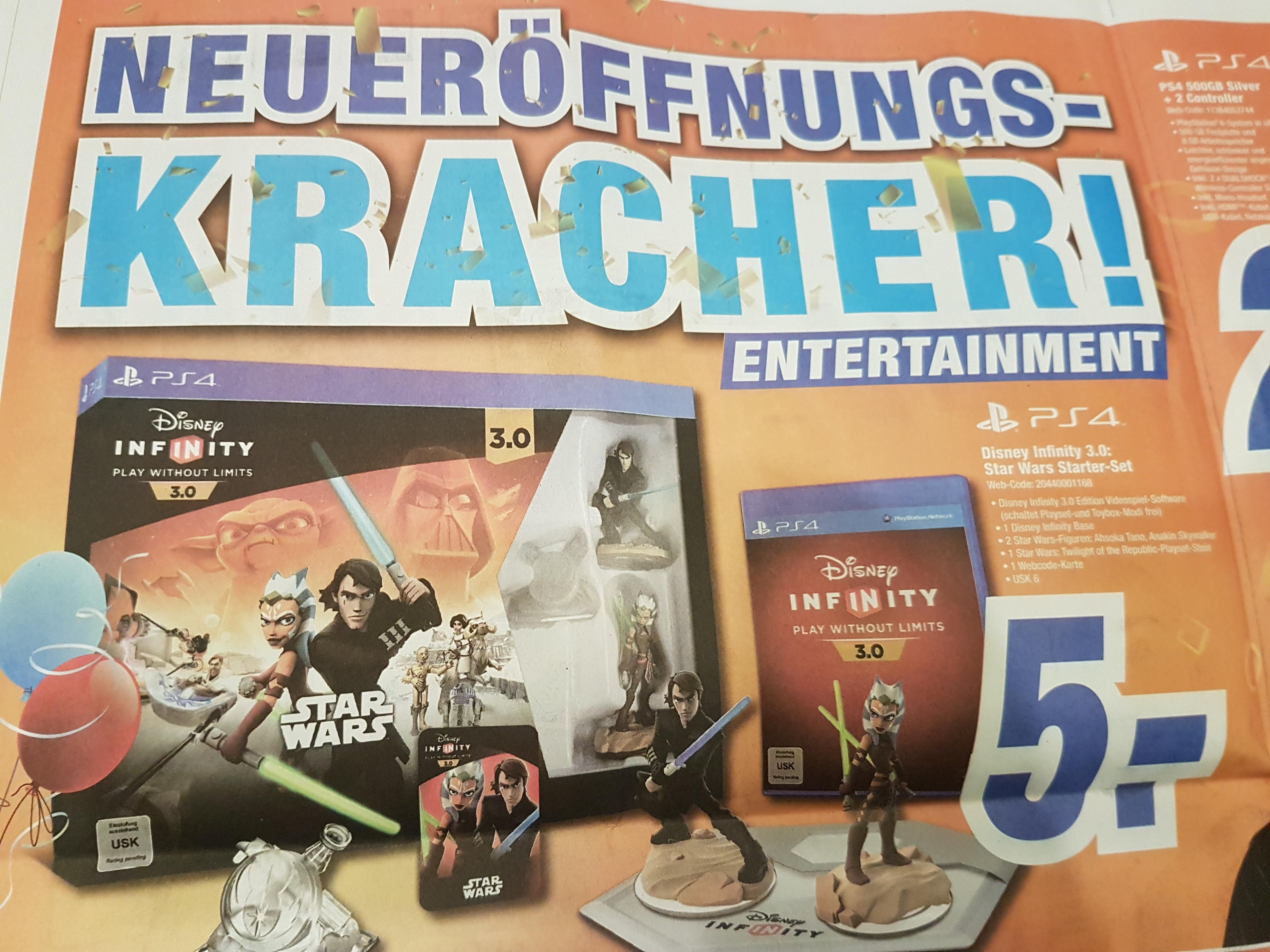 [Lokal Hallstadt/Bamberg] [Expert] Disney Infinity 3.0 Star Wars Starter-Set (PS4)