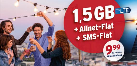 Tchibo Allnet-Flat + SMS-Flat + 1,5 GB