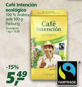 "[Rewe/Real] Fair Trade ""​Bio Café Intención Ecológico"" 500g (J.J. Darboven) für nur 3,39€/3,89€ (Angebot+Coupies)"