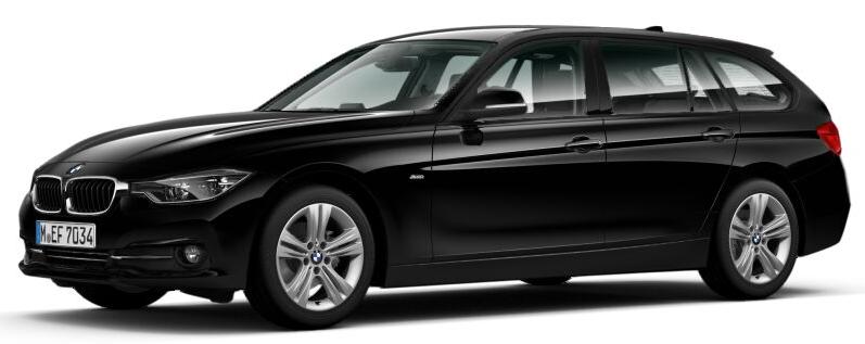 [Privat- und Gewerbeleasing] BMW 320d Touring Sport Line mit LF 0,47