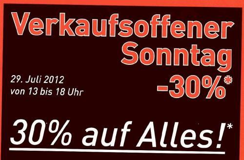 [Lokal] Verkaufsoffener Sonntag @ Adidas Outlet Store Herzogenaurach --> 30% auf alles