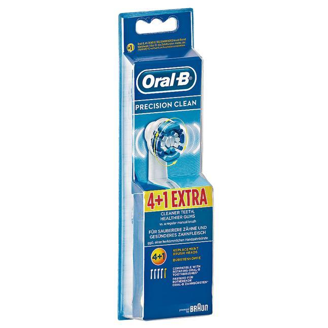Oral-B Precision Clean Ersatzbürsten 5 Stück für 9,95