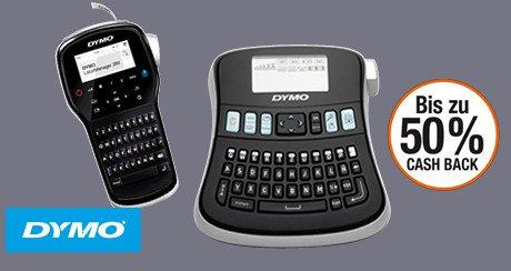 Dymo Etikettendrucker mit bis zu 50% Cashback sichern (Amazon)