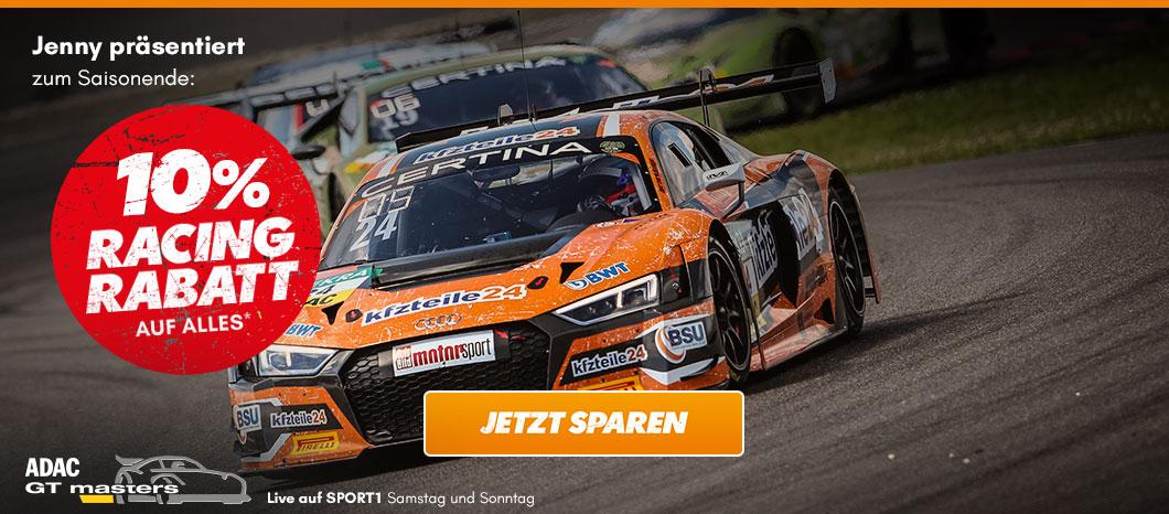 10% Racing Rabatt auf (fast) alles bei kfzteile24