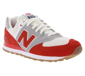 New Balance 574 Herren Sneaker Rot als Tagesdeal - Outlet 46 -