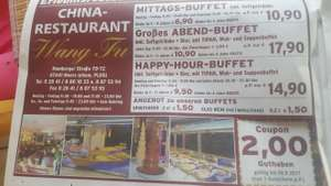 Lokal Wang fu Moers all you can eat Buffet inkl. Getränke
