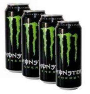 [Netto mit Hund] Monster Energy 4x0,5l für 2,97€ (3+1 Pack) je Dose 0,75€