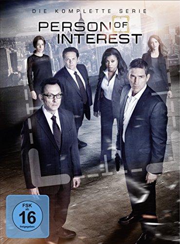 Person of Interest Staffel 1-5 (exklusiv bei Amazon.de) [Limited Edition] DVD für 39,97€ / Blu-ray für 59,97€ [Amazon Tagesangebot] + 1€ Amazon Video Gutschein