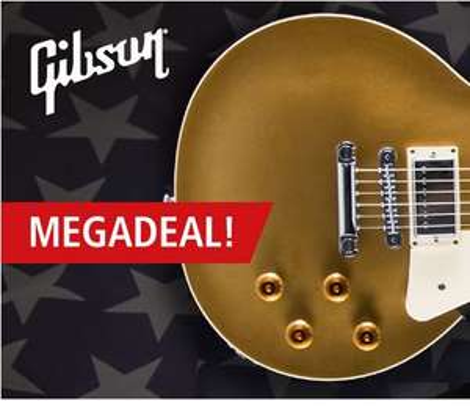 [Musicstore] Gibson Megadeal