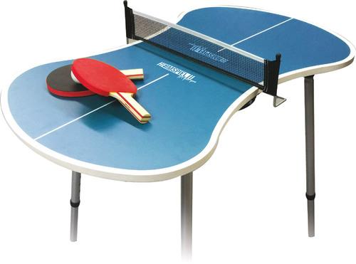 Mini Ping Pong Tischtennis-Set von Heimspiel - versandkostenfrei -