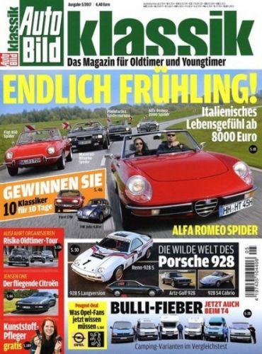 Auto Bild Klassik - 3 Ausgaben für 14,40€ mit 14,40€ Verrechnungsscheck