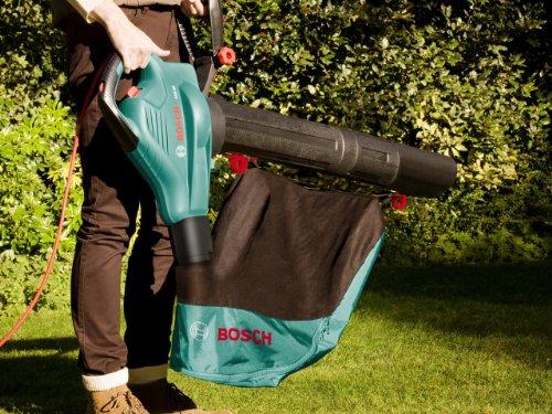 Bosch Laubsauger ALS 25, Fangsack 45 Liter, Luftstromgeschwindigkeit 280-300 km/h, Schultergurt, Karton (2.500 Watt) für 59,60€ [Amazon Tagesangebot]
