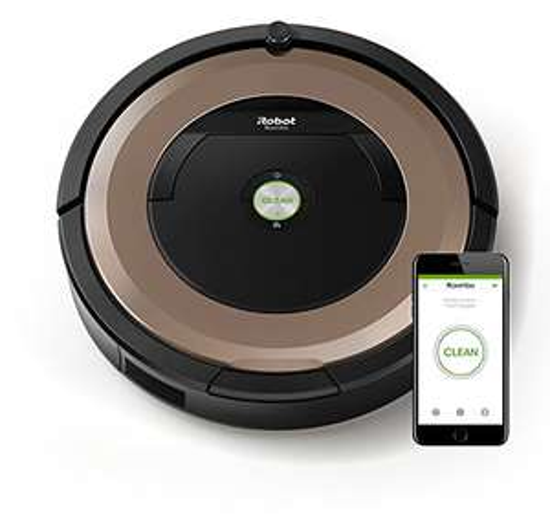 iRobot Roomba 895 - 2017er Staubsaugerroboter fortschrittliche Reinigungsleistung mit Dirt Detect, für alle Böden, ideal bei Tierhaaren, WLAN-fähig *UPDATE* auch der Roomba 960 bei vente-privee