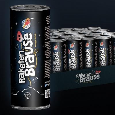 Raketenbrause Energy Drink (250ml) 24er Pack 50% Rabatt // Rocketbeans // 22,85€ inkl. Versand // Pfandfrei