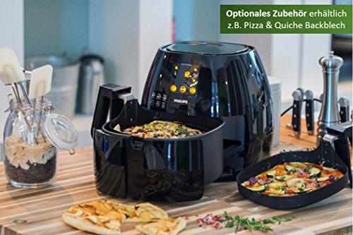 Philips Airfryer HD9240/90 Heißluftfritteuse + Philips HD9912/90 Backblech für Airfryer XL für 150,77€ statt 229,20€ [Amazon Blitzangebot]