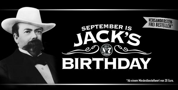 Jack Daniels Onlineshop - versandkostenfrei bestellen (MBW 20€)