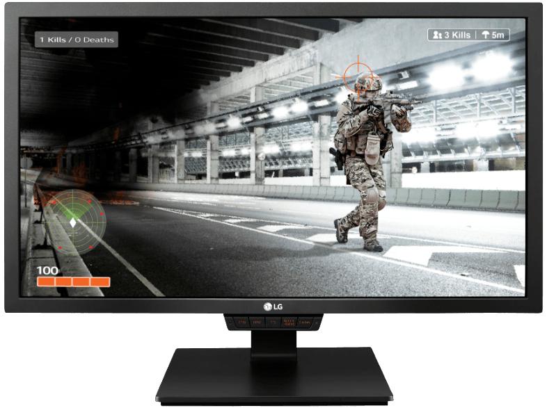 LG 24GM79G-B Gaming-Monitor (24'' FHD TN matt, 144Hz mit FreeSync, 2x HDMI + DP, 2x USB-In + 1x USB-Out, höhenverstellbar + Pivot + Swivel, VESA) für 199€ [Mediamarkt]