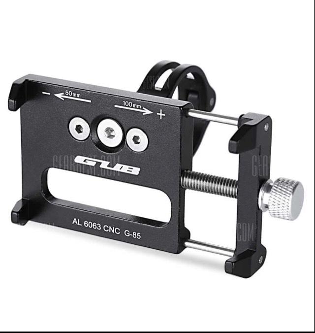 GUB G-85 Handy-Halter für den Fahrradlenker komplett aus Alu [gearbest]