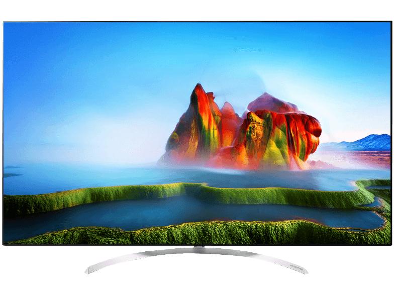 LG 60SJ8509 TV (60'' UHD Nano Cell Edge-lit Dimming HDR10 Dolby Vision HLG, 3200Hz [100Hz nativ], 10Bits, Triple Tuner, 4x HDMI, 3x USB, VESA, EEK A) für 1399€ [Mediamarkt]