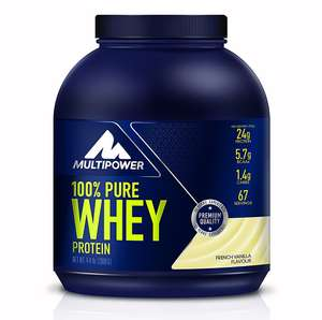 Multipower 100% Pure Whey Protein, French Vanilla, 4 kg für 49,92€ (1 kg für 12,48€) [Amazon Spar-Abo 5%] + weitere Multipower Angebote (ab 60€ gibt es zusätzlich 15% Rabatt)