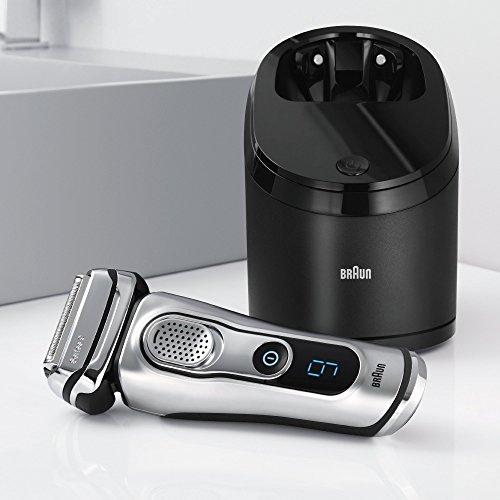 Braun Series 9 Elektrischer Rasierer 9090cc mit Reinigungsstation