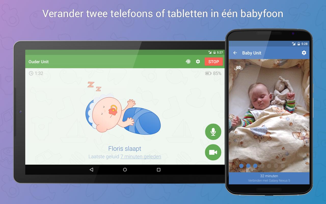 Babyphone 3G (Android) für 0,10€ (statt 3,99€) [Play Store]