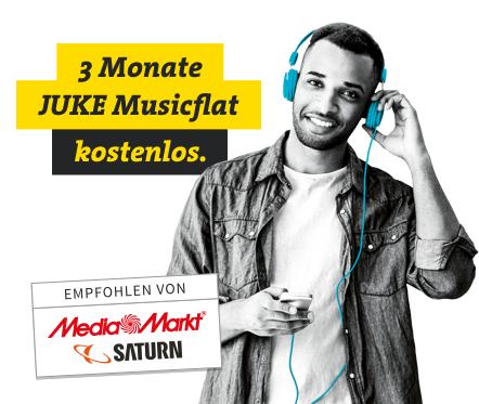 Juke Musicflat 3 Monate kostenlos