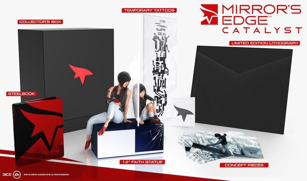 Mirror's Edge: Catalyst - Collector's Edition -> Zusatzinhalte ohne Spiel