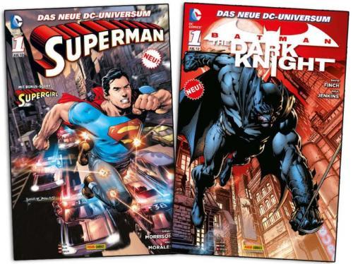 "Gratis-Comic ""Superman 1"" oder ""Batman – The Dark Knight 1"""
