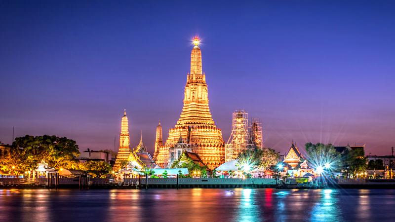 Rundreise: Frankfurt - Shanghai - Bangkok mit AirChina (StarAlliance)