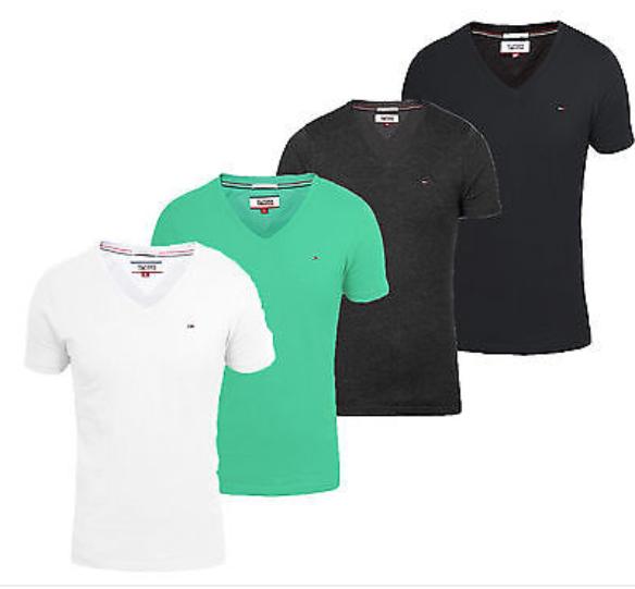 Tommy Hilfiger Denim Panson Vneck Herren Männer T-shirt ab 13,99